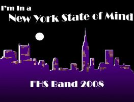 2008 FHS Marching Band T-Shirt by Philestino