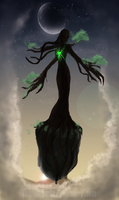 The Tree Lady by zaameen
