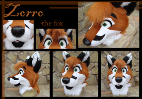 Zorro the fox FOR SALE by Furitup