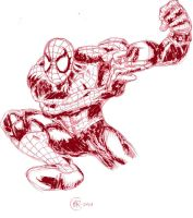 Spidey by littleholly23