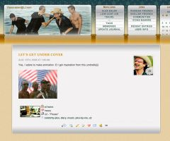 LiveJournal Layout feat. U2 by fionaadam