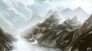 Speedy Mountains by Majoh