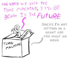 Time Machine (Sexual Offenderman) by arcanineryu