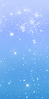 Free Custom Box Background: Blue Sparkles by SpookyBjorn