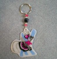 MLP Photo Finish Keychain Charm by AmyAnnie14
