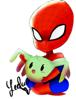 Spidey by Leefuu
