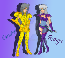 .~Dmitri and Ranya~. by IcyCryStaLHeaRt
