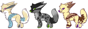 [Offer to adopt] Flashy Foxes 2 .:Closeee:. by RallenLover293882883