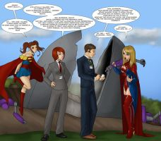 Agents Meet Kryptonians by LexiKimble