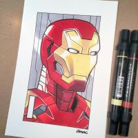 I is for Iron Man by D-MAC