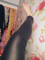My sexy leggings and pink toes! by pazza9
