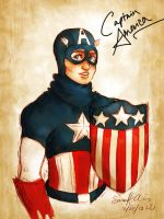 Captain America by Kumu18
