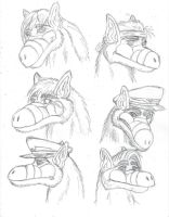 ALF characters by Ravenfire5