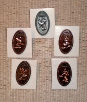 Disney Mystery Penny Trading Pins Limited Edition by Pabloramosart
