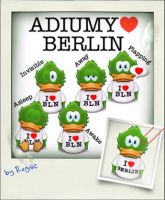 Adiumy Love Berlin by Regivic