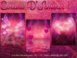 BG Mini Pack - Coeurs D'Amour by poserfan-stock