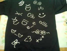 Emote Shirt by BritishNicky