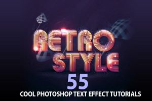 55 Ridiculously Cool Photoshop Text Effect Tutoria by Designslots