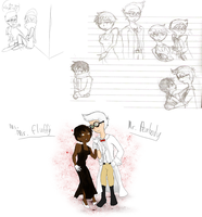 Mr Peabody and Mr Fluffy humanized by Missplayer30
