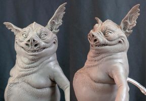 Hogsqueal maquette v2 by MarkNewman