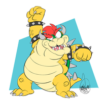 Happy Bowser Day! by SharpDressedReptile