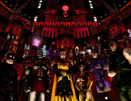 The Guild of Calamitous Intent by HarryBuddhaPalm