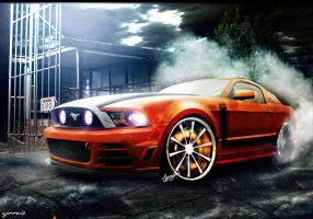 Ford Mustang by FabricioProDesign
