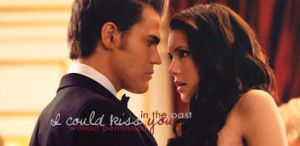 Elena Gilbert and Stefan Salvatore Signature by McOlussska