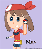 Pokemon Trainer May by SilverLugia23