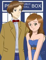 Dr.Who Commission by dimensioncr8r