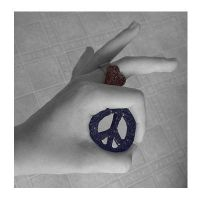 PEACE and LOVE by Squeemishness