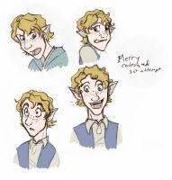 LOTR redesigning Merry 1 by Bilious
