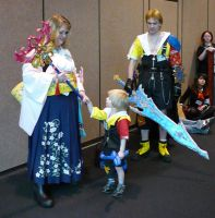 Final Fantasy Family by Draconian-Doxology