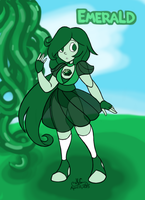 Gemsona - Emerald by HirokoTheHedgehog