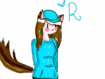 Gif and fanart for Rin the fox's admin UuU by Ask-Sweet-The-Human