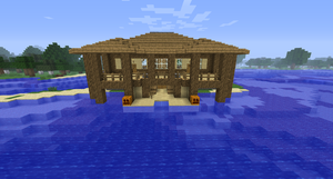 Minecraft Island House #1 by Cosmic155