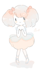 little cotton candy girl by blossomlikereadbook
