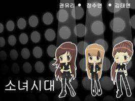 Chibi Black Soshi 3 by xcry
