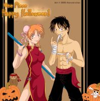 One Piece: .:Happy Halloween:. by Harumi-Chan
