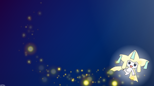 Jirachi Wallpaper 1600x900