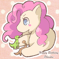 Happy Birthday Phantos 2011 by spiffychicken