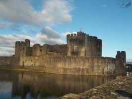 Caerphilly Castle by NuclearJackal