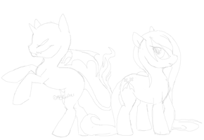 My Vicious Ponies WIP by MBPanther