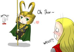 THOR-- Pole Dance by kakaleng1
