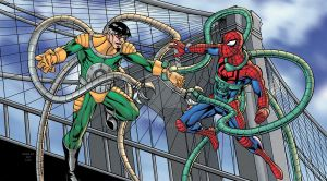 Doc Ock VS Spidey by Shugga