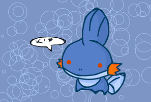 Mudkip chibi by Kat-The-Piplup