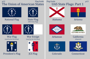 Union of American States Flags by Martin23230