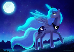 Princess Luna by Vilina