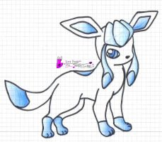 Shiny Glaceon by Filly-Milly