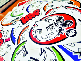 Stickers are hereeeee by impface